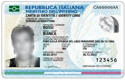 Carta d\'Identità Elettronica (CIE) | Comune di Serramanna